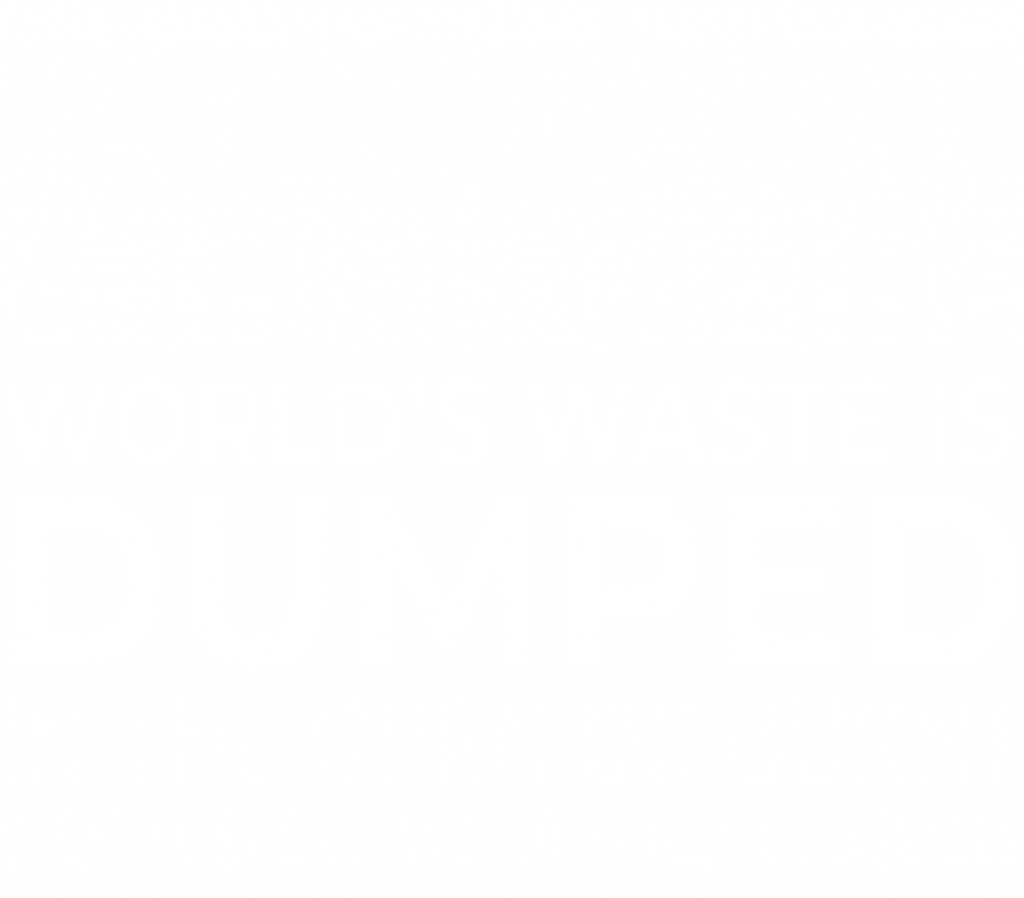 At least a third of the world's waste is dumped in the open or burnt – creating smoke- and toxin-related diseases