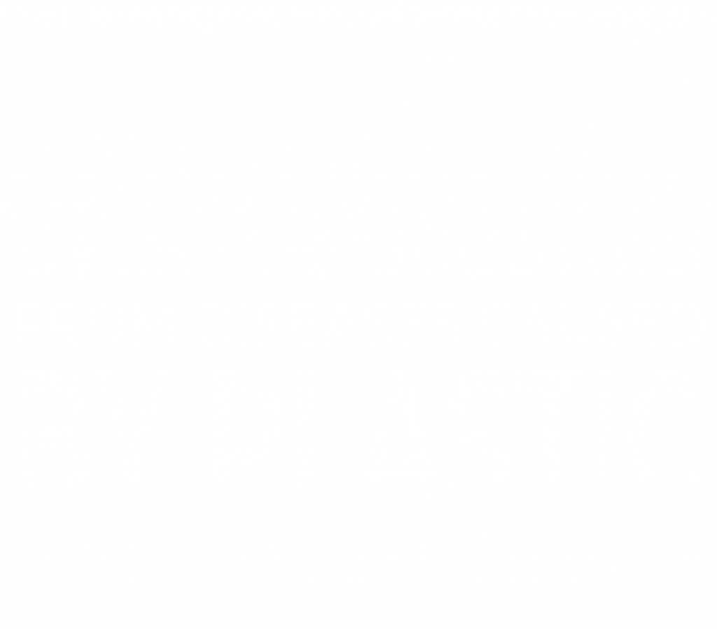 In developing countries, one person dies every 30 seconds from diseases caused by plastic pollution and rubbish